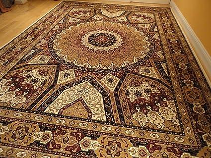 Silk Persian Qum Area Rugs 5x8 Beige Rug Living Room Rugs Luxury Rugs Ivory  Carpet 5x7