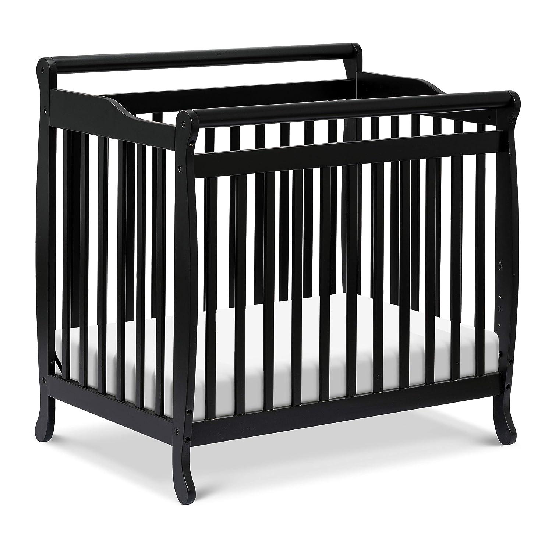 B000FT9J3U DaVinci Emily 4-in-1 Mini Crib and Twin Bed in Ebony | Greenguard Gold Certified 81M8X22L-pL
