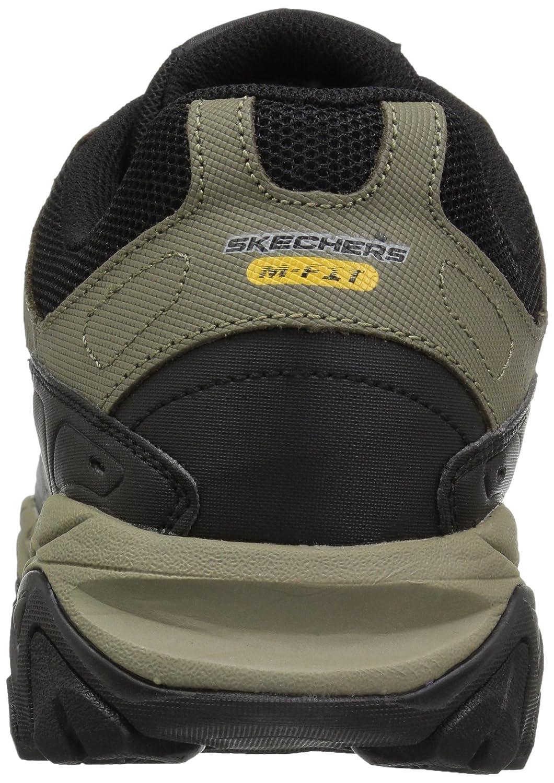Skechers Deporte Espuma De Memoria Postcombustión De Los Hombres Huelga De Los Zapatos De Entrenamiento ILhGs1Dwm