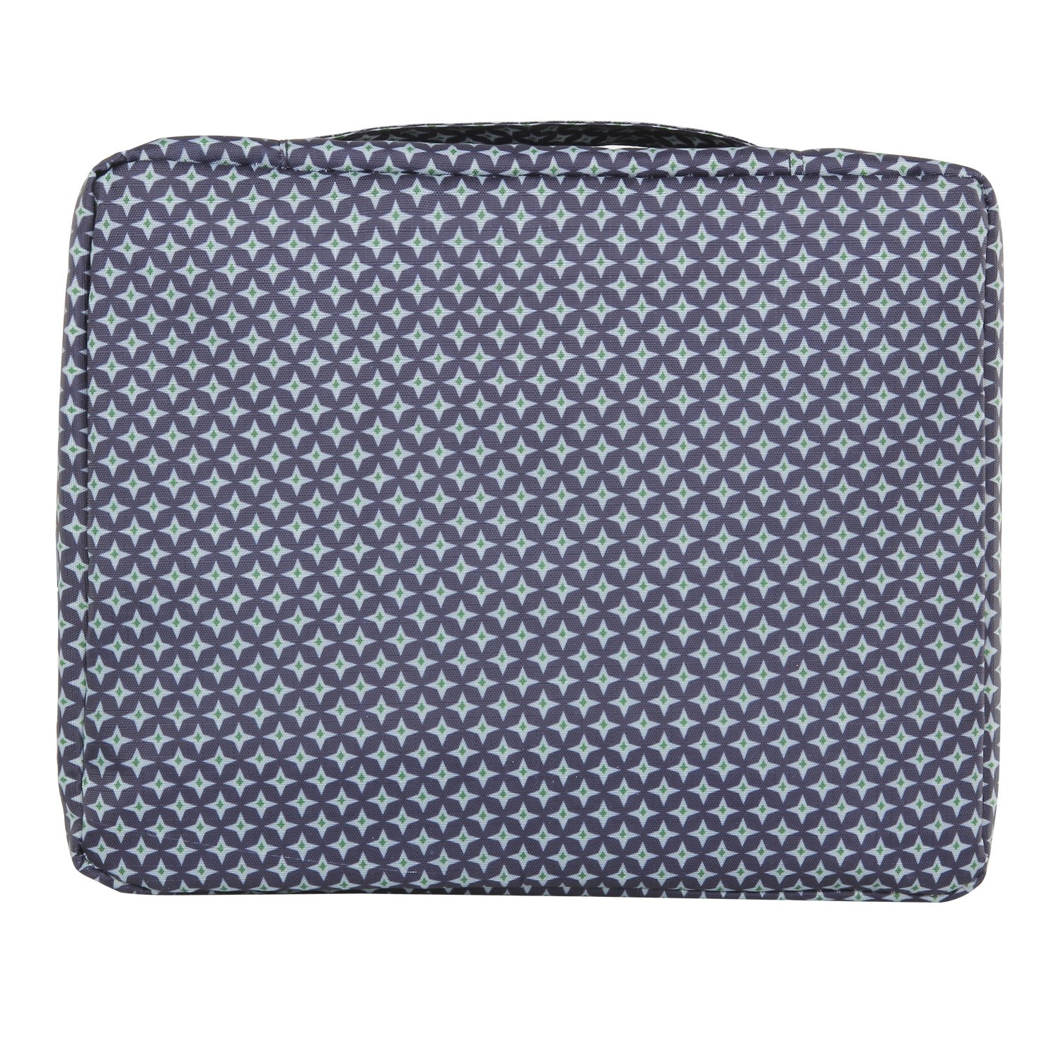 Discoball Floral Print Waterproof Travel Pattern Multi Pouch Cosmetic Makeup Bag Toiletry Organizernavy Blue 70471