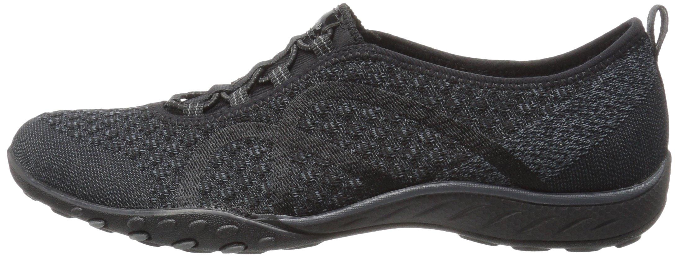Skechers Sport Women's Breathe Easy Fortune Fashion Sneaker,Black Knit,5 M US by Skechers (Image #5)