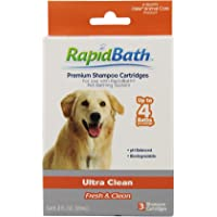 HydroSurge Rapidbath Shampoo Ultra Cleaning Cartridges (3 Pack)
