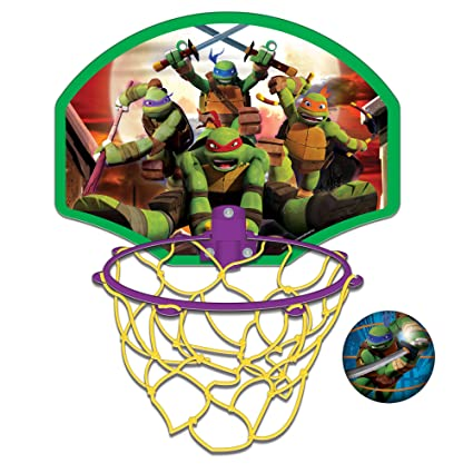 Amazon.com: Ninja Turtles Over The Door Basketball Set ...