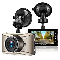 Deals on Old Shark Dash Cam 3-inch 1080P 170 Wide Angle w/Night Vision