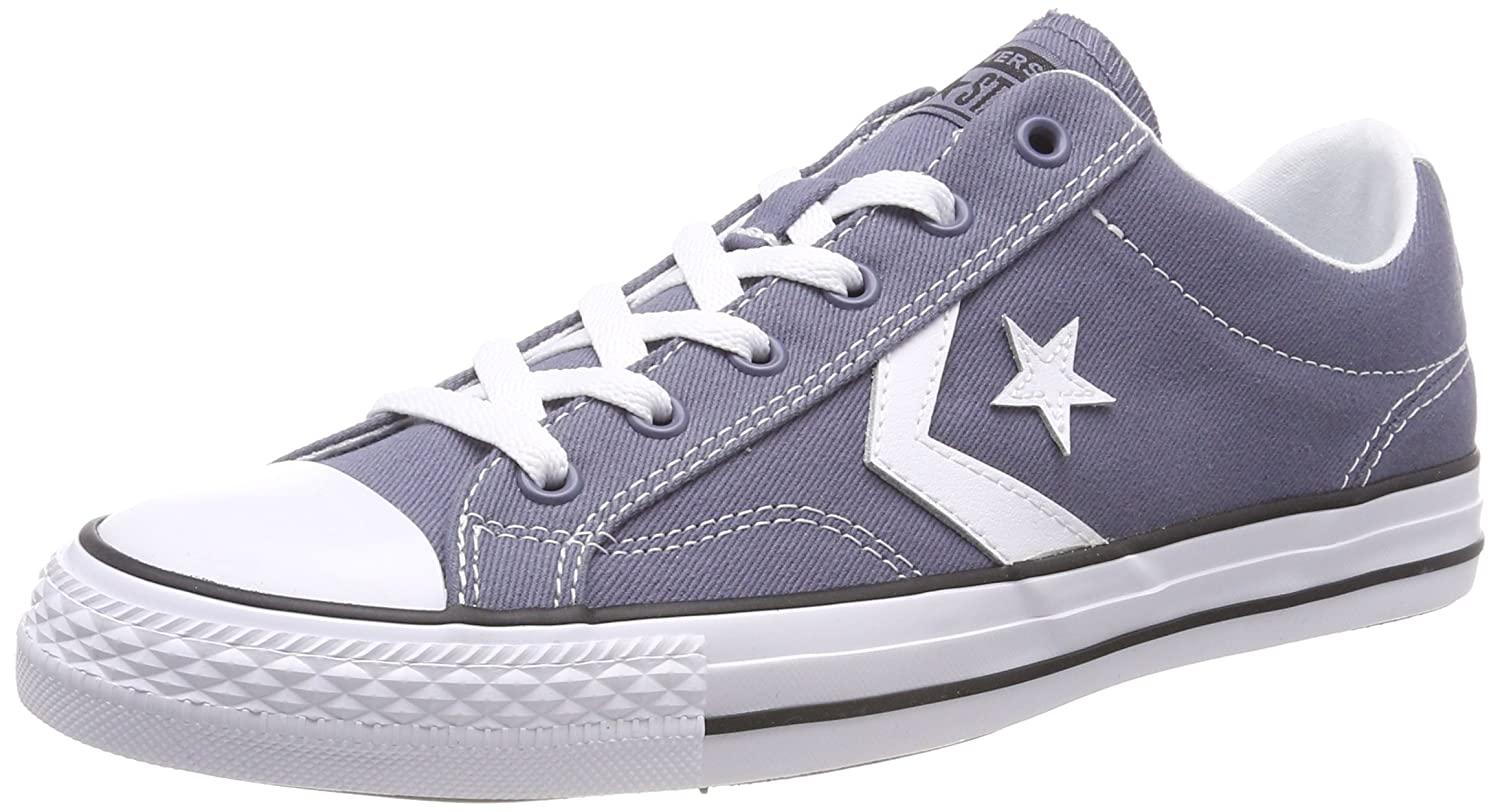 Converse Unisex-Erwachsene Star Player OX Light Carbon/White/Black Sneaker  515 EU|Grau (Light Carbon/White/Black 534)