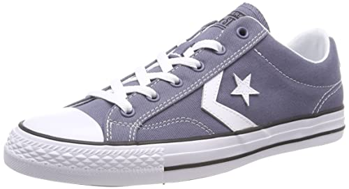 12906a343c2 Converse Unisex Adults  Star Player OX Light Carbon White Black Trainers