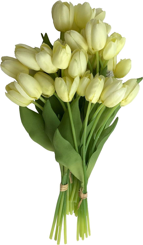 CHANEL Flower Market Permanent Botanical Cream Mini-Tulip Sprays 6 Bunches