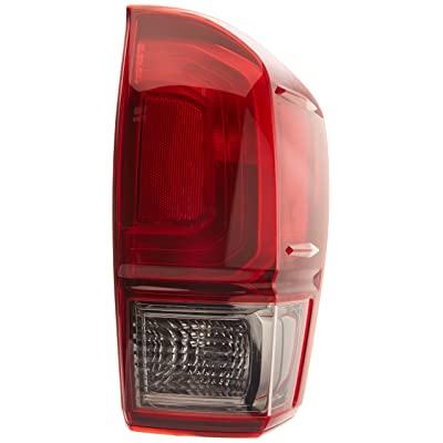 TYC 11-6849-90-1 Replacement Right Tail Lamp Compatible with Toyota Tacoma: Automotive