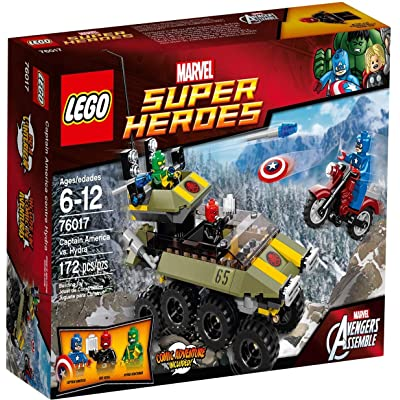 LEGO Super Heroes 76017: Captain America vs. Hydra: Toys & Games [5Bkhe0507280]