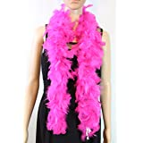 Over 10 Color 25 Gram, 4 Feet Long Chandelle Feather Boa, Kids Feather Boa, Great for Party, Wedding, Halloween Costume, Chri