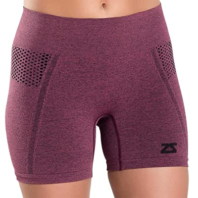 Zensah Women's Running Shorts - WOD Shorts - Compression Volleyball Activewear Boyshorts for Working Out