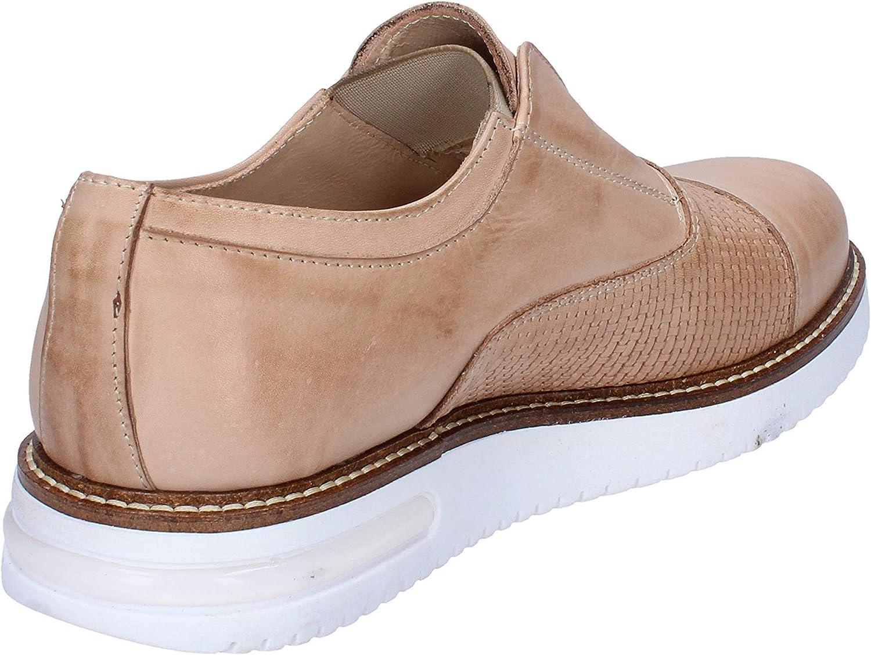 FDF SHOES Oxfords-Shoes Mens Leather Beige