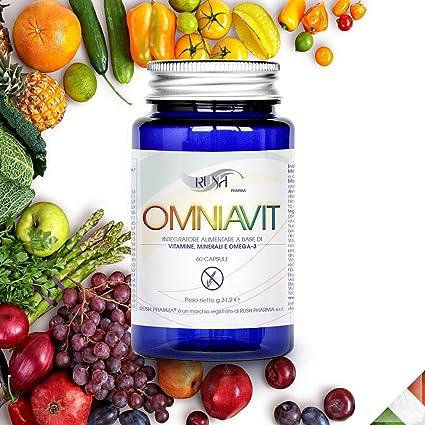 Multivitaminas Rush - Vitaminas y minerales en capsulas, para ...