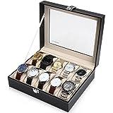 Readaeer 腕時計収納ケース 腕時計収納ボックス コレクションケース 10本用