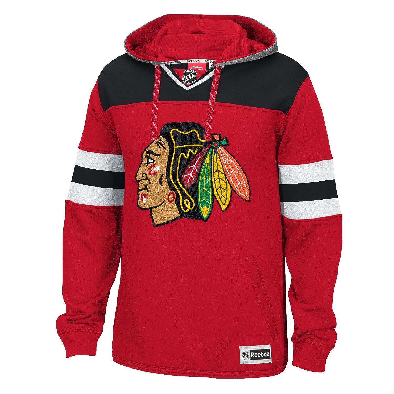 Chicago Blackhawks Reebok NHL Men's Alternate Pullover Hooded Sweatshirt