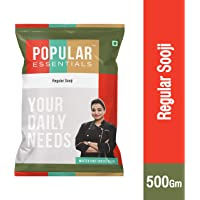 Popular Essentials Sooji Pouch, 500 g