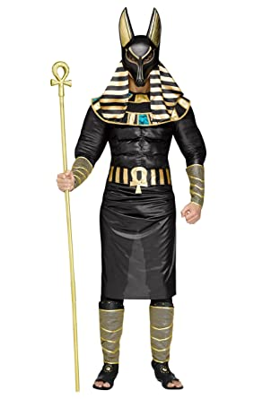 anubis egyptian god mens adult halloween costume jackal death standard size - Halloween Costume Death
