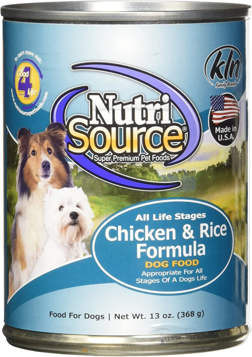 Tuffy S Pet Food Nutrisource 12-Pack Of 13 Oz Canned Food For Dogs