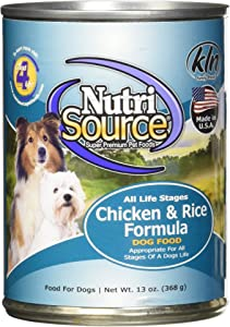 Tuffy'S Pet Food Nutrisource 12-Pack Of 13 Oz Canned Food For Dogs