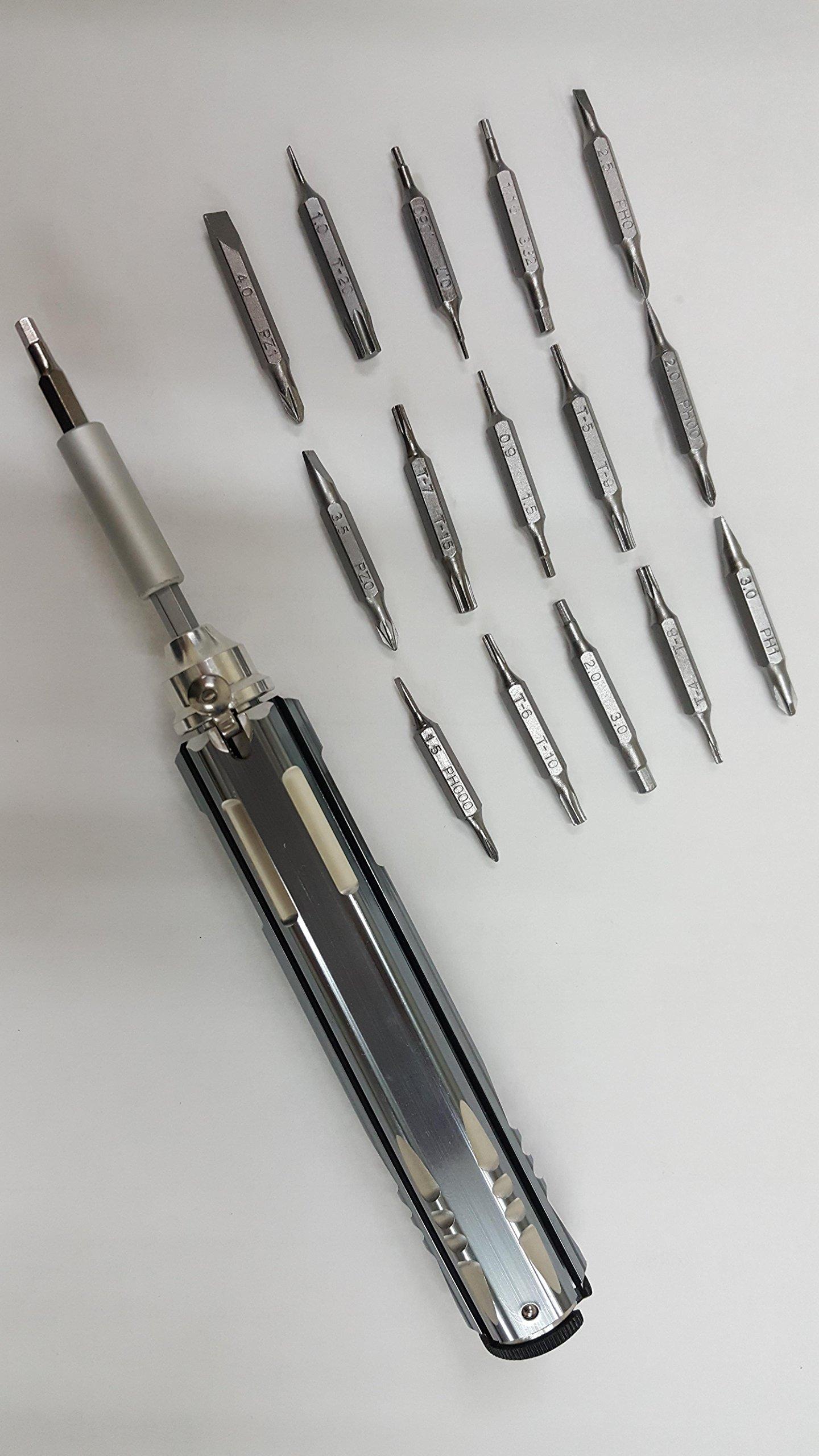 Adjustable 32 in 1 Multi Tool - Hex/Flat/Phillips/Hexalobular