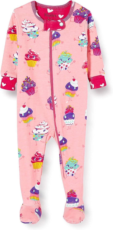 Hatley Organic Cotton Footed Sleepsuits Pigiama Bimba