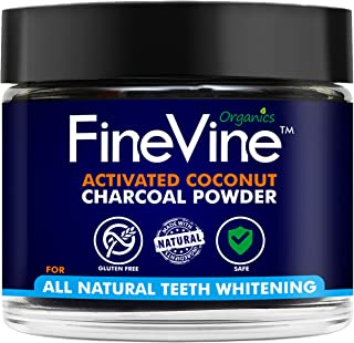 product image for Charcoal Teeth Whitening Powder - Made in USA - Naturally WHITEN Teeth and REMOVES Breath - Best Natural Tooth Whitener Product- (Peppermint)