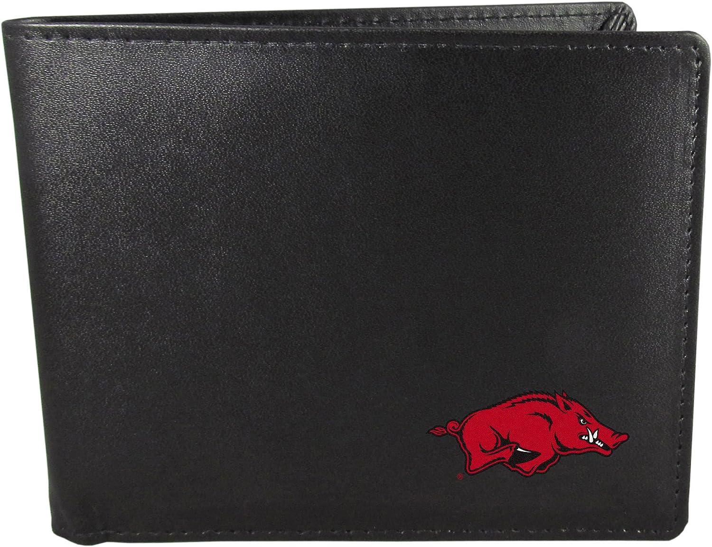 NCAA Arkansas Razorbacks Bi-fold Wallet Black