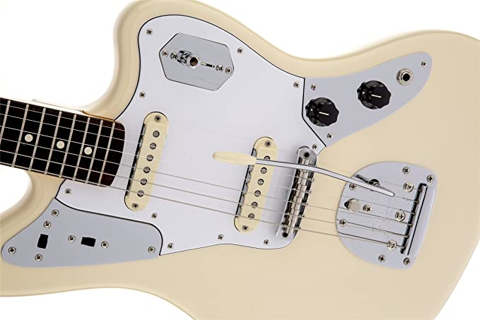 Amazon.com: Fender Johnny Marr Jaguar, Rosewood Fingerboard - Olympic  White: Musical InstrumentsAmazon.com