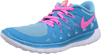 NIKE Free 5.0, Zapatillas de Correr para Niñas: Amazon.es: Zapatos ...