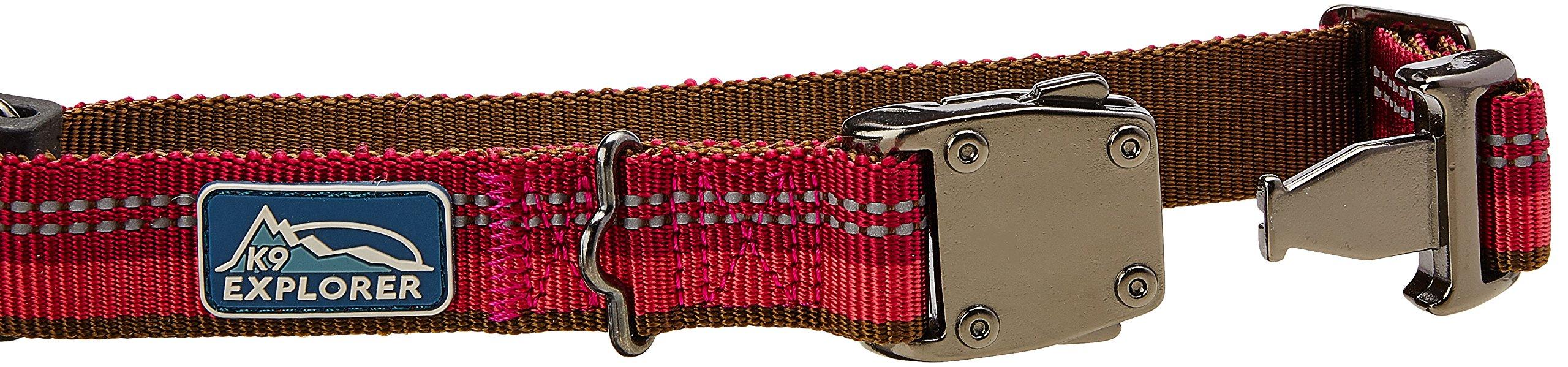 Coastal Pet Products DCP36922BRY K9 Explorer 1-Inch Dog Collar, Medium, Berry by Coastal Pet (Image #2)