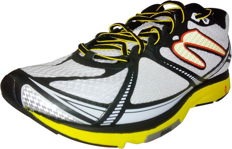 Newton Running Mens Kismet II Running Shoe, Zapatillas Hombre, Blanco (White/Yellow), 49 EU: Amazon.es: Zapatos y complementos