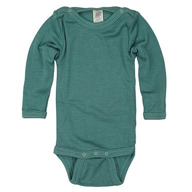 0f218ad6af6d8c Engel Baby Kinder Body Langarm Bio-Schurwolle Seide  Amazon.de ...