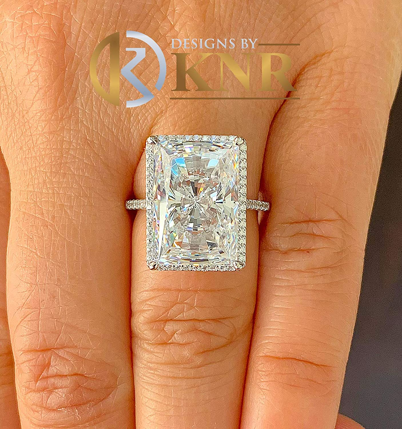 925 Silver  14K 18K Gold Round Cut Prong Fit Diamond Minimalist Ring Engagement Ring Anniversary Gift For Women Wedding Ring