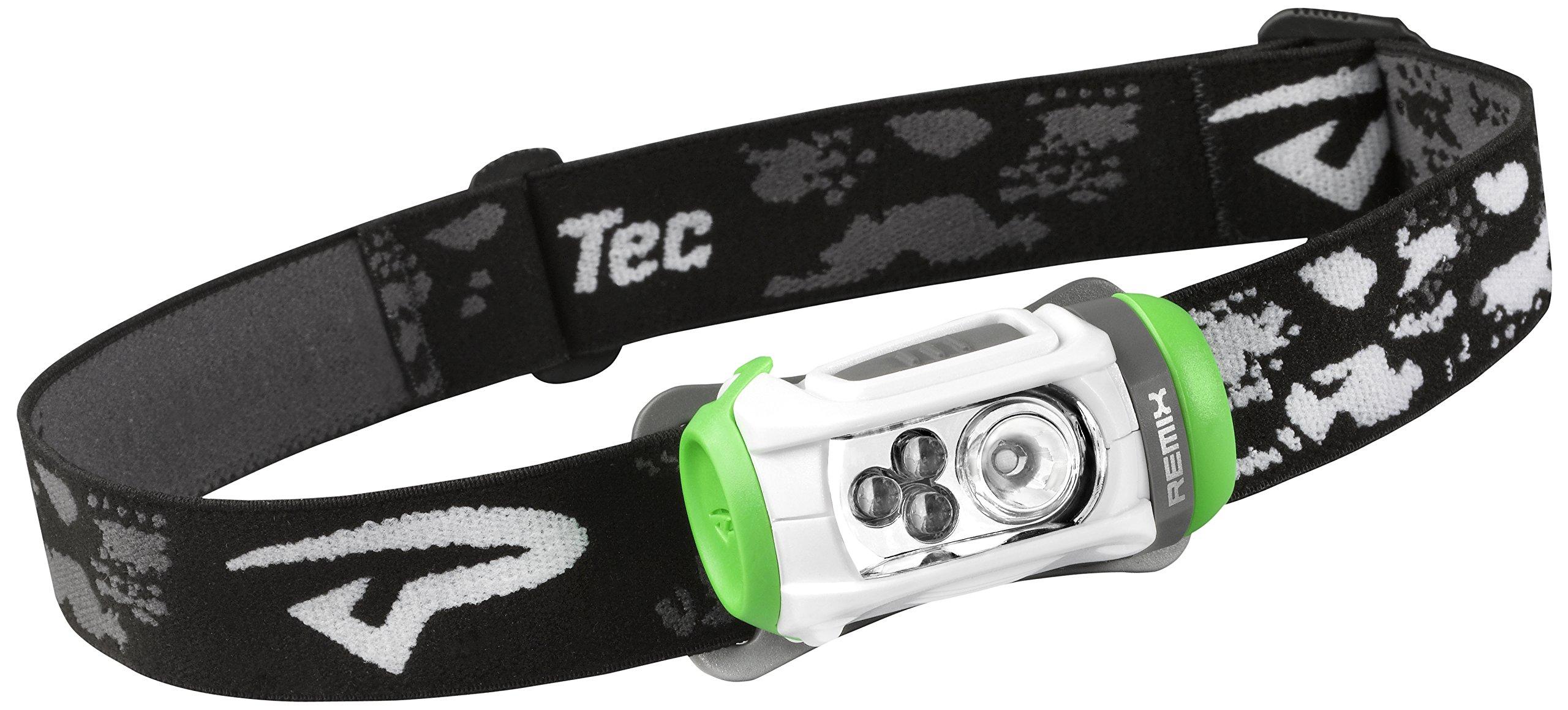 Princeton Tec Remix LED Headlamp (150 Lumens, White/Green) by Princeton Tec