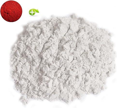 Mosaico Para Juntas , 1kgr color blanco + 20 grs de pigment de color Rojo (separado): Amazon.es: Hogar