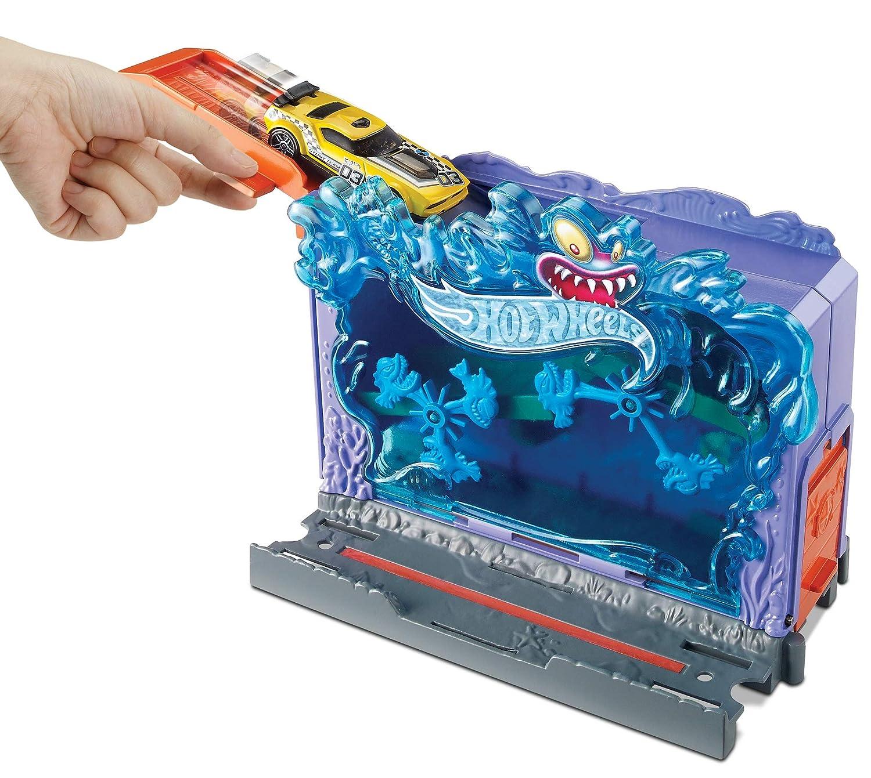 Hot Wheels FRH32 City Aquarium Set, Spielset für Spielzeug Autos inkl. 1 Spielzeugauto, ab 4 Jahren