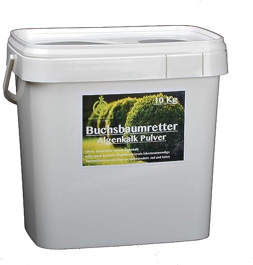 stauden Marchas 10 kg Algas Polvo de Cal en Cubo/Boj/presentar el Original/con Instrucciones: Amazon.es: Jardín