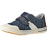 Clarks Boys Junior Shoes, Blue, 4 AU