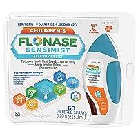 Flonase Sensimist Allergy Relief Nasal Spray, 24 Hour Non Drowsy Children's Allergy...