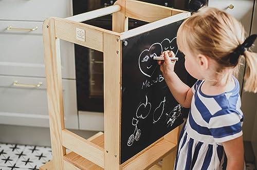 WERBUNG – MEOW Baby Lernturm mit Kreidetafel