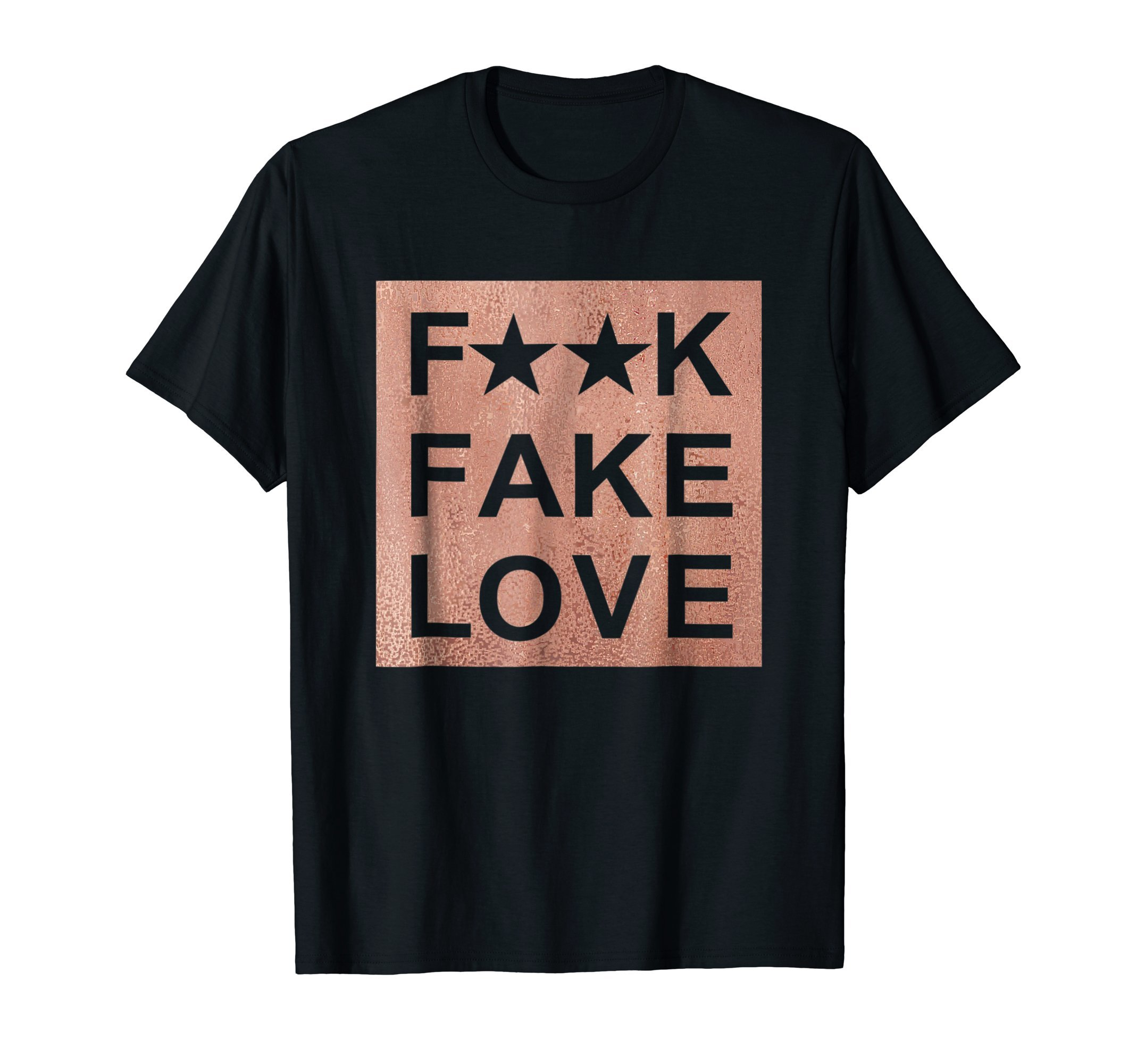 Fake Love Rose Gold T-Shirt Sneaker Heads Basketball shoes by Concrete And Luxury
