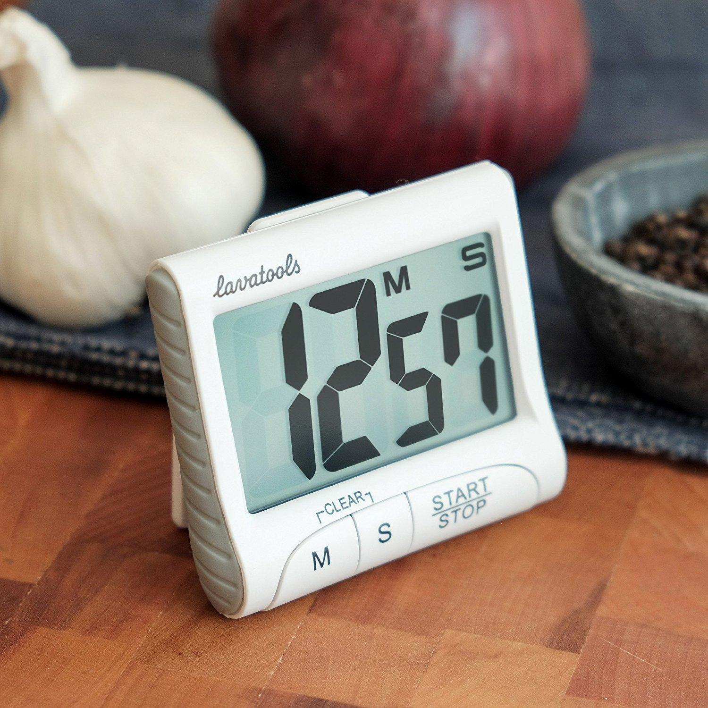 Buy Baskety Digital Kitchen Timer & Stopwatch, Large Digits, Loud ...