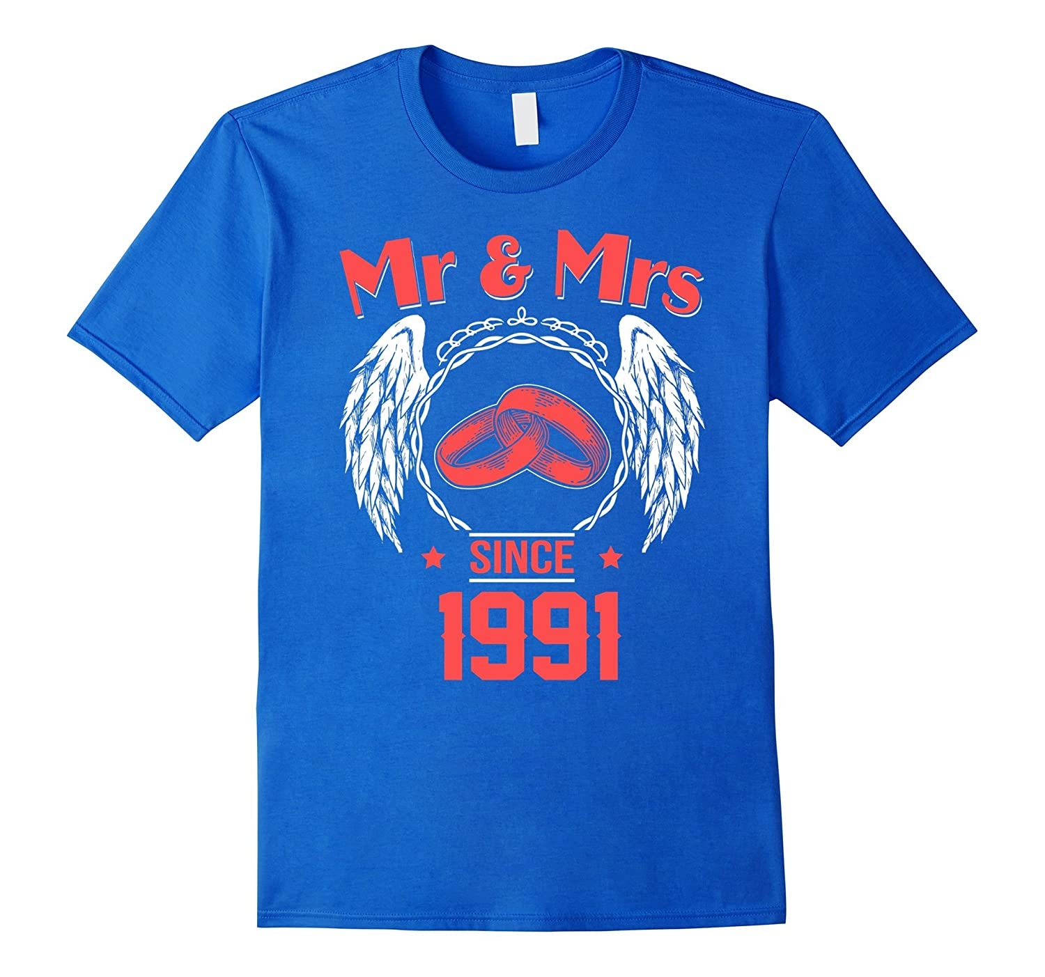 26th Wedding Anniversary Gifts T Shirts For Husband For Wife Pl