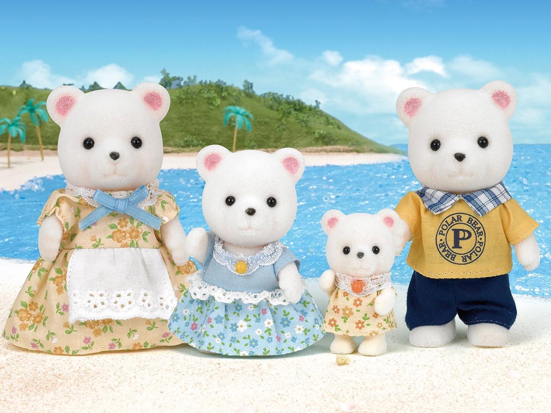 Epoch Sylvanian Families Calico Critters Polar Bear Family FS-19 JAPAN IMPORT