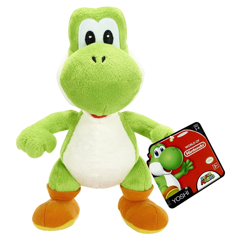Nintendo Peluche de Yoshi laquo;World of Yoshi»: Amazon.es: Juguetes y juegos