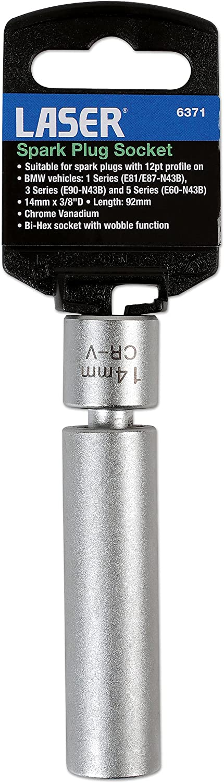 2pc w//Case Powerhouse 301150 5//8 Spark Plug Socket