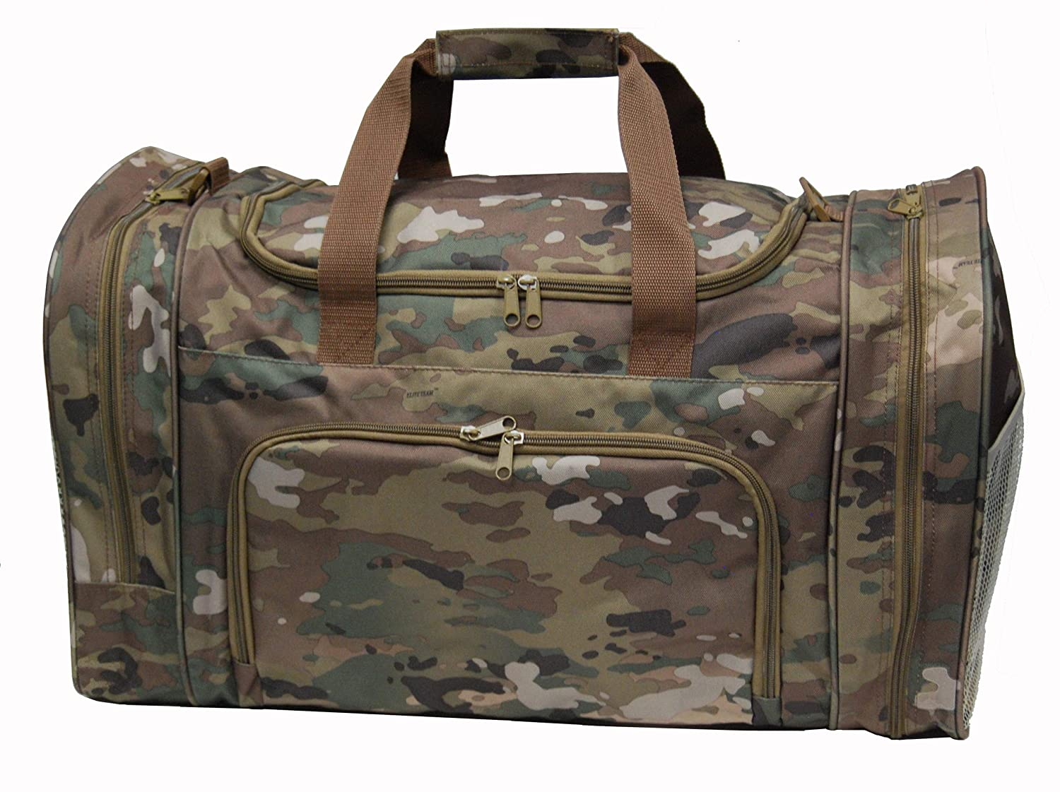 Amazon.com  Army Military OCP Digital Camo Overnight Gym Duffel Travel Bag  with Cell Phone Pocket  Sports   Outdoors d183f82f17a