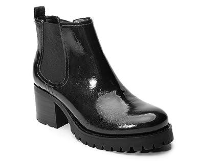 88b61e61f70ae Amazon.com | Jane and the Shoe Women's Lena Lug Sole Ankle Boot ...
