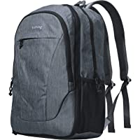 Yuheng Travel Backpack Lightweight, Large Capacity, Expandable for Women & Men College School Computer Bag - Grey