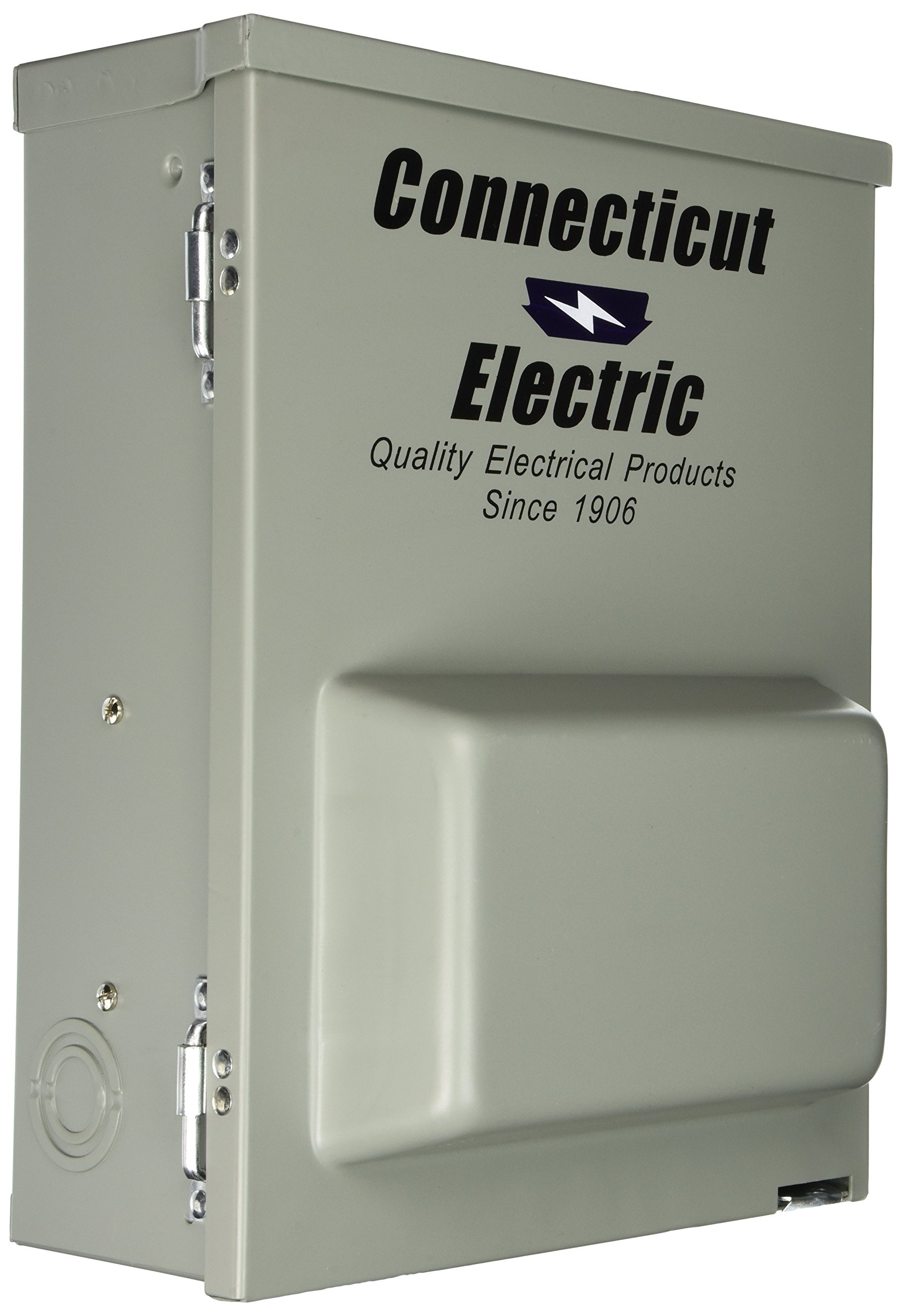 Outdoor Power Outlet, 120/240V, 80A by Connecticut Electric